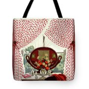 A House And Garden Cover Of A Mirror Tote Bag
