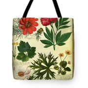 A House And Garden Cover Of Flowers Tote Bag