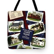 A House And Garden Cover Of Houses Tote Bag