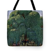 A House And Garden Cover Of People Dining Tote Bag