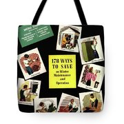 A House And Garden Cover Of Renovation Tote Bag