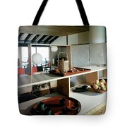 A House At Quantuck Bay Tote Bag