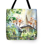 A House In Our Street In Budapest Tote Bag