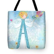 A Is For Angel Tote Bag
