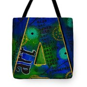 A Is For Art And Art Is Love Tote Bag