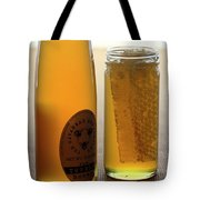 A Jar And Bottle Of Honey Tote Bag