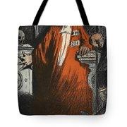A Judge In Full Garments, Illustration Tote Bag