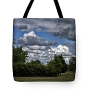 A July Cold Front Rolling By Tote Bag