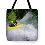 A Kayaker Running A Beautiful Spirit Tote Bag