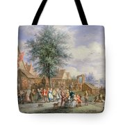 A Kermesse On St. Georges Day Tote Bag by Angel-Alexio Michaut