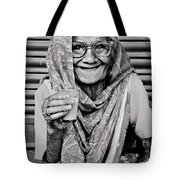 A Lady And Her Chai IIi Tote Bag