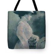 A Lady Ponders Tote Bag