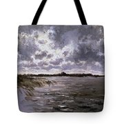 A Lake In The Netherlands Tote Bag