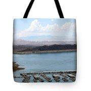 A Lake Mead Marina Tote Bag