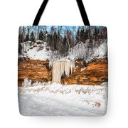 A Land Of Snow And Ice Tote Bag