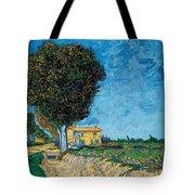 A Lane Near Arles Tote Bag