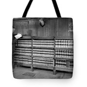 A Lawyer In His Library Tote Bag