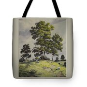 A Lazy Day For Grazing Tote Bag