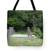 A Leisurely Stroll In Putnam County Veteran Memorial Park Tote Bag