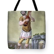 A Lictor, Bearer Of The Fasces Tote Bag