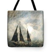 A Light Through The Storm - Sailing Tote Bag