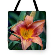 A Lily's Golden Heart Tote Bag