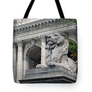 A Lion Called Fortitude Tote Bag