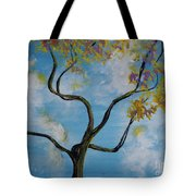 A Little All Over The Place Tote Bag