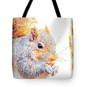 A Little Bit Squirrely Tote Bag