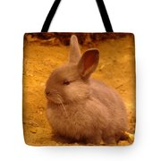A Little Bunny Tote Bag