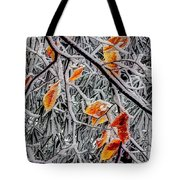 A Little Cheer On A Snowy Day Tote Bag
