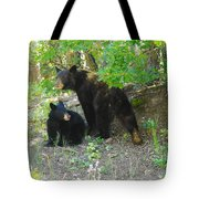 A Little Growl Before Departing Tote Bag