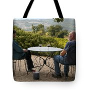 A Little More Wine Please Tote Bag