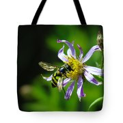 A Little Nectar Seeking Fruit Fly Tote Bag