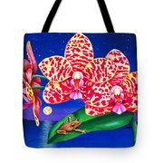 A Little Night Music Tote Bag by Carolyn Steele