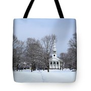 A Little Red White And Blue Tote Bag