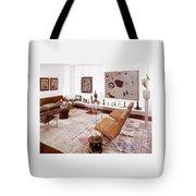 A Living Room Full Of Art Tote Bag