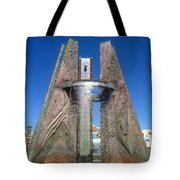 A Local Hot Spot Framed Tote Bag