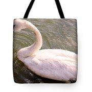 A Lone Swan Named Gracie Tote Bag