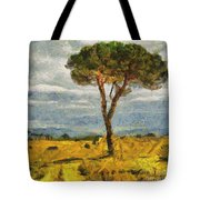 A Lonely Pine Tote Bag