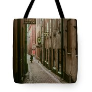A Lonely Walk Home Tote Bag