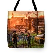 A Long Journey Tote Bag