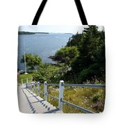 A Long Way Down Tote Bag