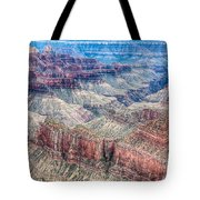 A Look Into The Grand Canyon  Tote Bag