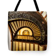 A Look Up The Stairs Tote Bag