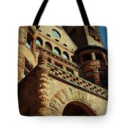 A Looming Castle Tote Bag