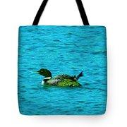 A Loonie Loon Tote Bag by Jeff Swan