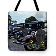 A Lot Of Classic Cars Tote Bag