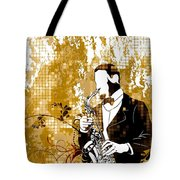A Love For Sax Tote Bag