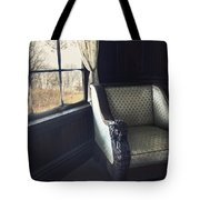 A Lovely View From The Window Tote Bag